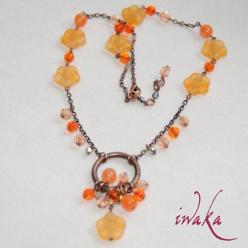 Kytičkový náhrdelník