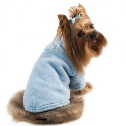 Psí obleček rolák modrý
