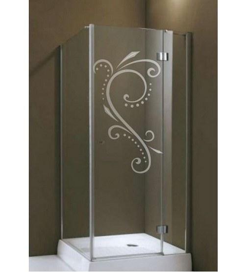 (045g) Nálepka na sprchovací kút