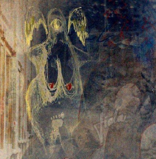 Strážný anděl muže doby kamenné