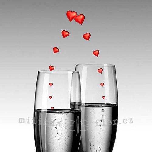 Šampaňské s láskou - elektronicky
