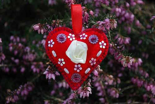Přívěsek - srdce
