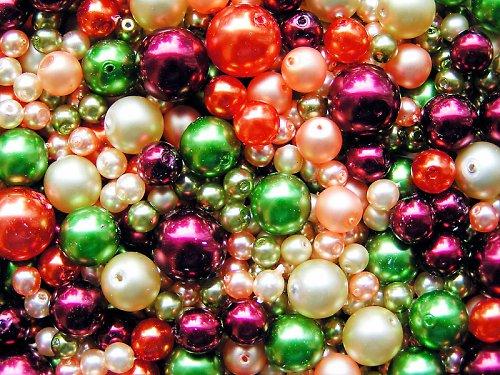 Voskové perle - klaun - směs