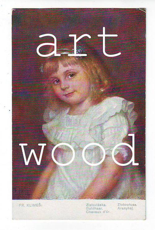 PORTRÉT DÍVENKY pohlednice č. 676