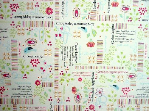 Papír Love Blooms - kolekce Nancy Jane