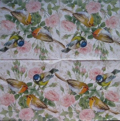Ptáčci na růžičkách č. 1773