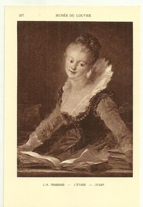 Umělecká pohlednice J.H.Fragonard
