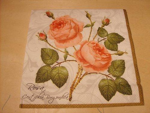 Ubrousek - růže 3