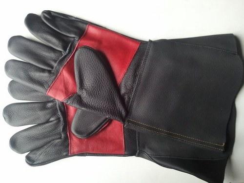 Celolícové kožené rukavice - svářecí