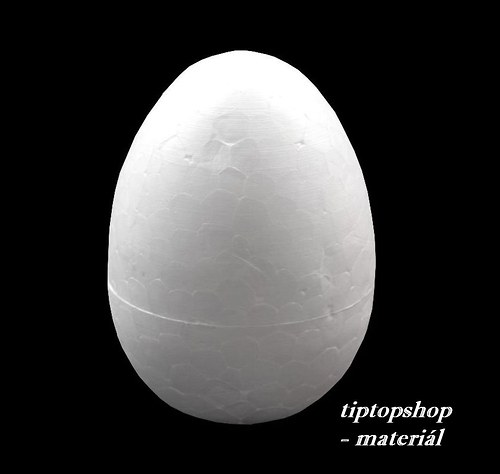 Vejce polystyren 50x70mm (cena za 5ks/slevněno!)