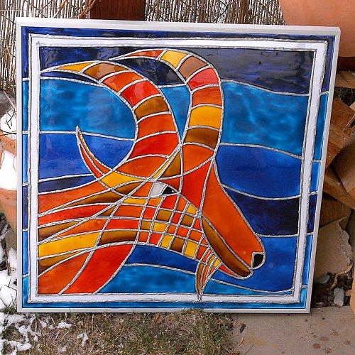 KOZOROH - znamení zvěrokruhu 50x50cm
