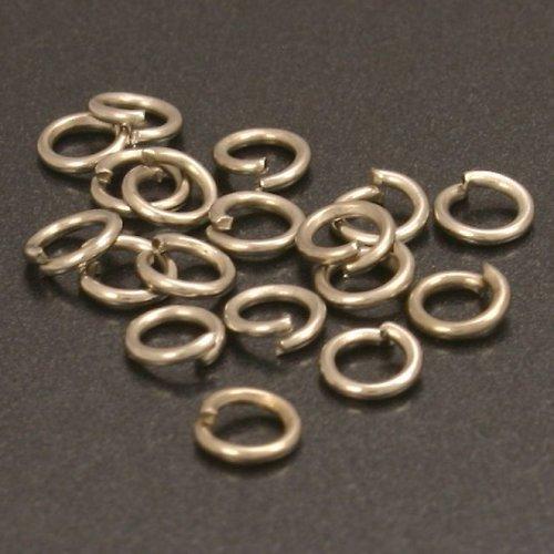 Platinové kroužky 4 mm (100 ks)