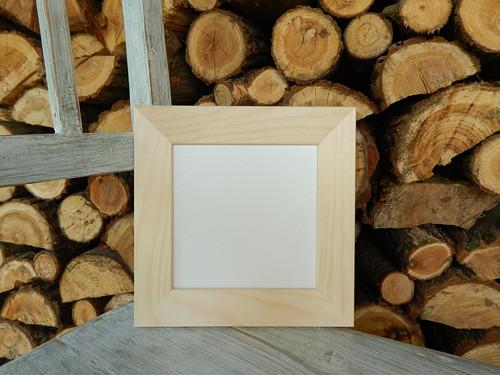 Rám dřevěná lišta 4 cm 16 x 16 cm sololit