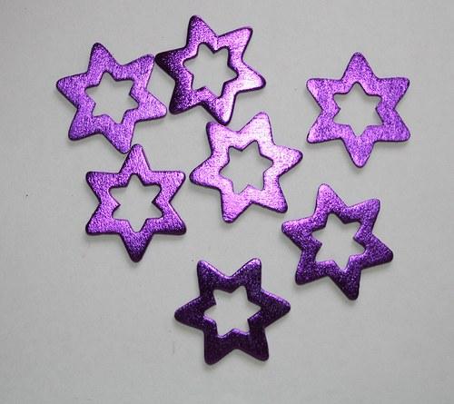 Hvězda fialová  - 3 ks