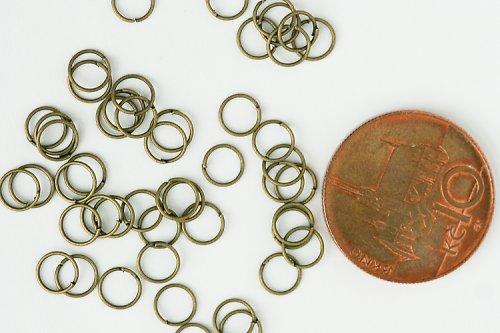 Spojovací kroužky bronzové 6 mm - 20 ks