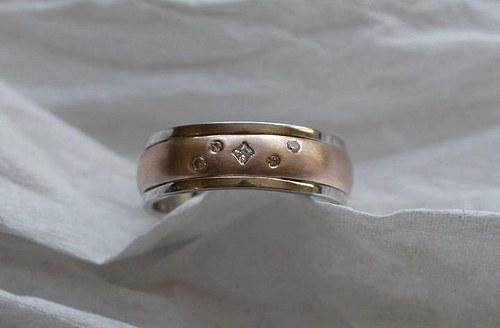 snubní prsteny M17