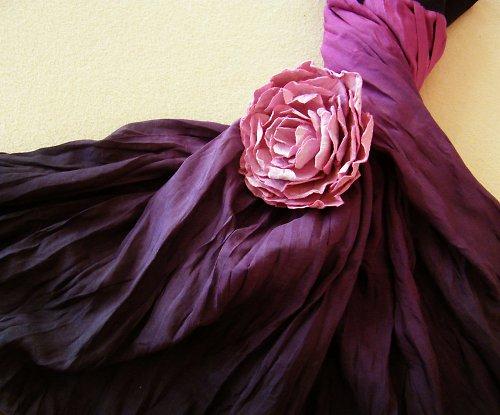 Pro Temnou Bohyni - hedvábná sukně dlouhá