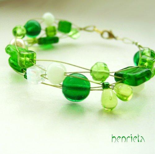 Green Twist - náramek