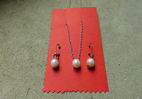 Náhrdelník - Říční perle v jednoduchosti.....