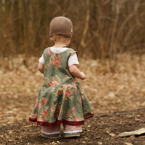 maličká Jane Austen ...šatičky 1-2 roky