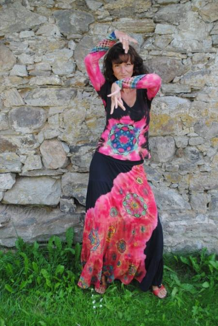 Miluji flamenko..........tančím, když jsem šťastná, tančím, když jsem k smrti smutná.......