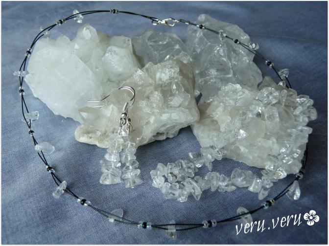křišťál - sada šperků