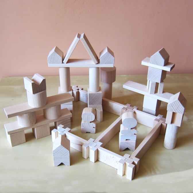 Stavebnice Kubík kostky