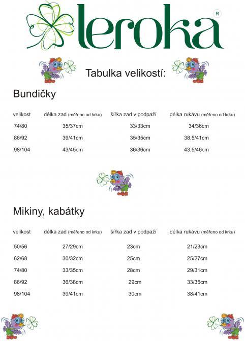 tabulka velikostí_leroka1