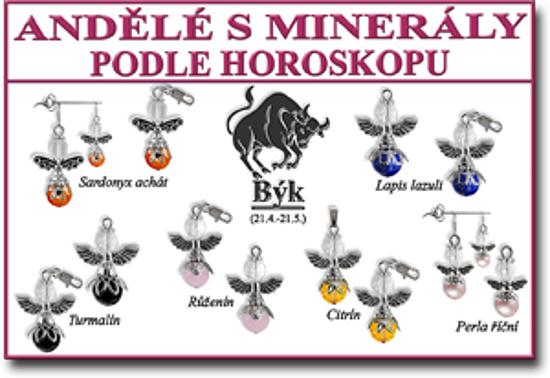 andělé pro štěstí s minerály na výběr podle znamení horoskopu