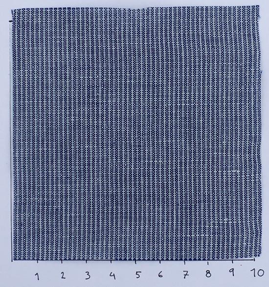 modrobílý len gramáž 174 g/m2