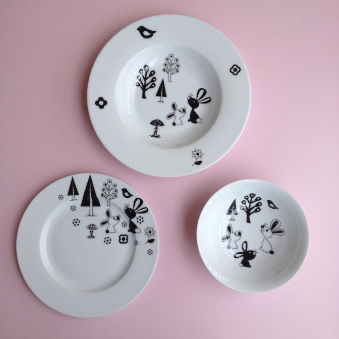 Originální, autorské motivy na porcelánu