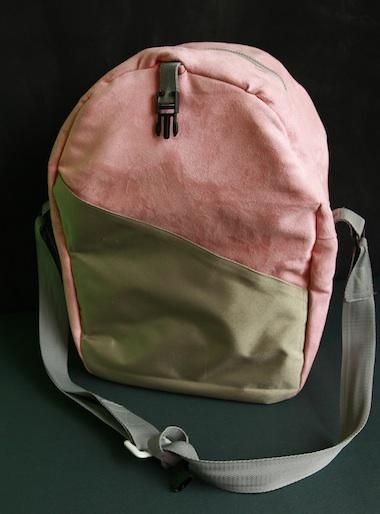 cestovní taška semiš