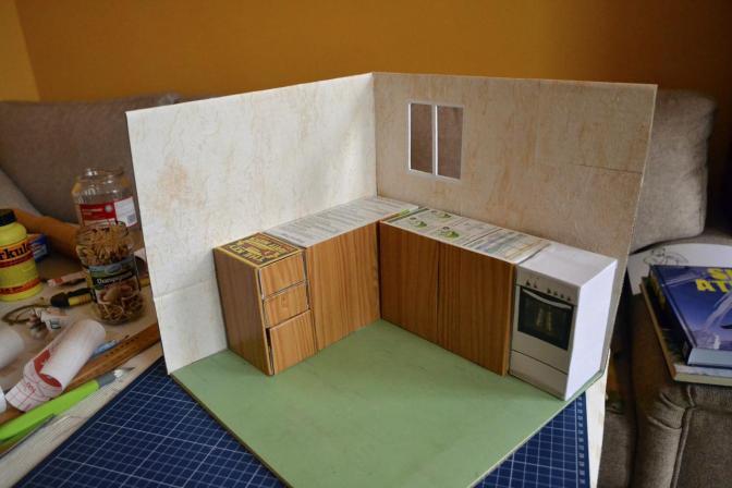 Výroba kuchyně