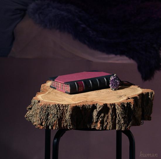 Přírodní stolek