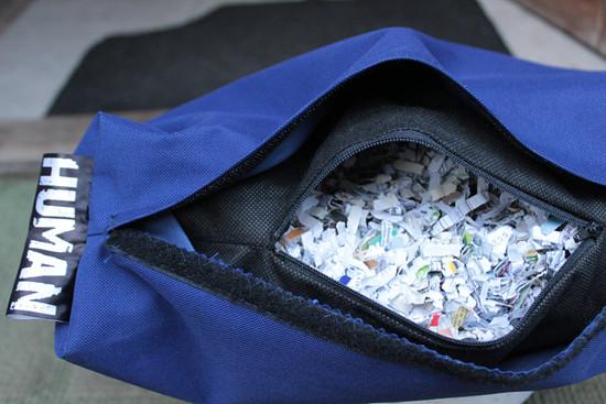 recy, eko výplň z papíru