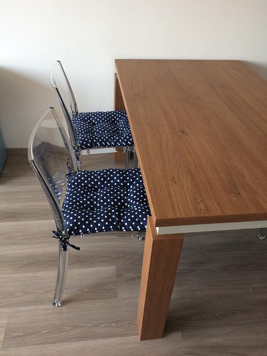 Podušky na židličky