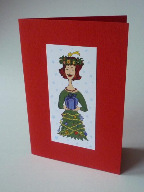 Vánoční lady - blahopřání