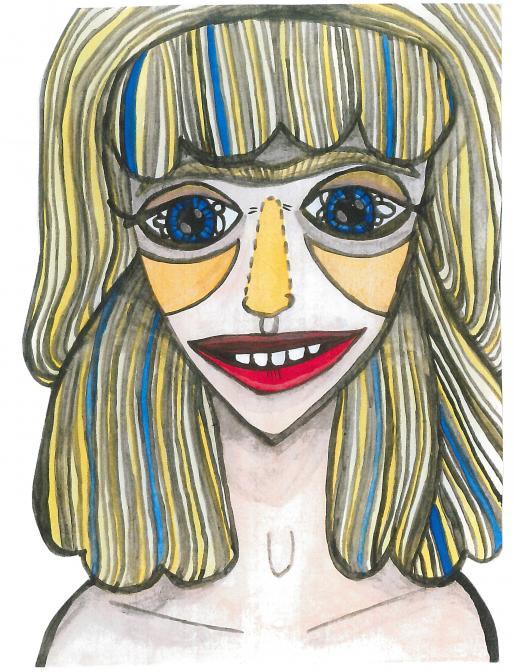 Blondýnka