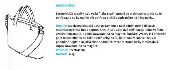Maxi kabelka