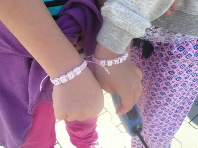 Náramky na Dětský tábor :-)