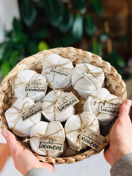 biobavlněné tampónky Toconeos