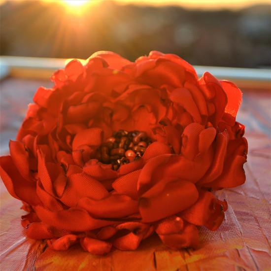 Brož i květ do vlasů Katja